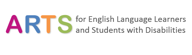 Arts for English Language Learners and Students With Disabilities Logo